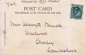 Genealogy Postcard - Family History - Brindle - Chorley - Lancashire 946