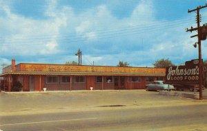 Dunn North Carolina Johnson's Restaurant Vintage Postcard AA31625
