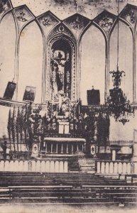 Caldenian Church Baghdad Iraq Antique Postcard