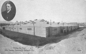 Billy Sunday Tabernacle Scranton Pennsylvania #13259 C-1910 Postcard 20-7331