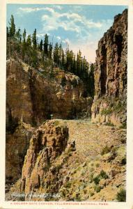 WY - Yellowstone National Park. A Golden Gate Canyon
