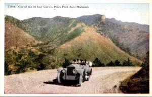 Colorado Pikes Peak Auto Highway One Of The 50 Foot Curves