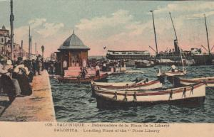 SALONICA, Greece, 00-10s; Landing Place of the Place Liberty
