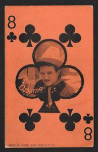 ARCADE CARD Cowboy Entertainer Bud Osborne