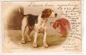 Foxhound Dog Tuck Write Away Series PC # 1599