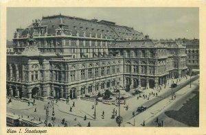 Austria Postcard Wien Staatsoper