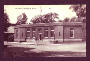 ME US Post Office SKOWHEGAN MAINE PC Postcard