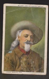 Buffalo Bill Cody, Lookout Mountain, Colorado - Used 1929 - Much Creasing