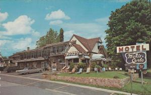 Monte Carlo Motel, On #2 Hwy Overlooking The St. Lawrence Seaway, Canada, 195...