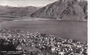 Switzerland Locarno Mauralto verso Magadino 1966 Photo