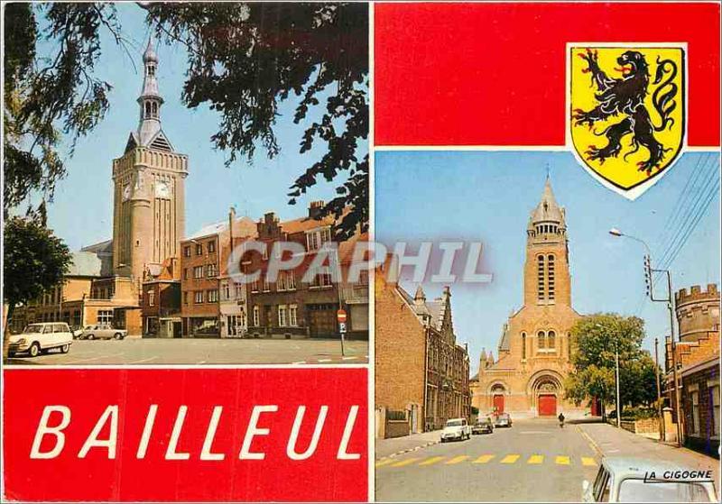 Modern Postcard Souvenir de Bailleul (North)
