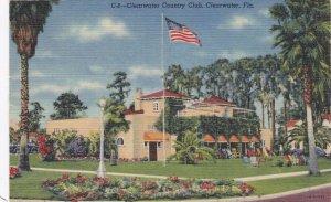 Florida Clearwater Country Club 1949 Curteich sk3432