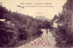 SACHS. SCHWEIZ  SOMMERFRISCHE GOHRISCH GERMANY