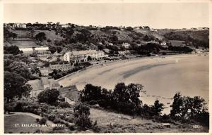 Jersey St Brelade's Bay Beach General view 1954