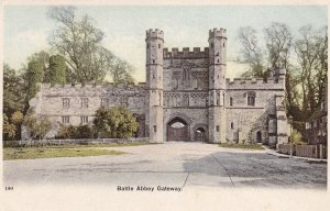 BATTLE, East Sussex, England, 1900-1910's; Battle Abbey Gateway