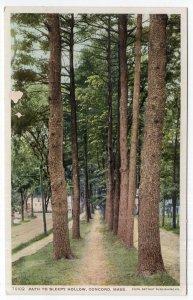 Concord, Mass, Path To Sleepy Hollow