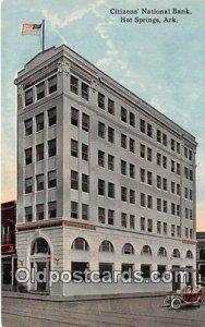 Citizens' National Bank Hot Springs, Arkansas, USA Postcard Post Card un...