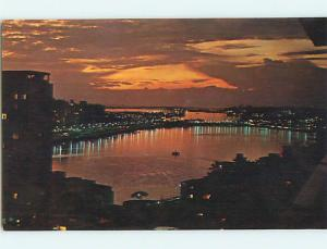 Unused Pre-1980 SUNSET AT CONDADO LAGOON San Juan Puerto Rico PR Q0126