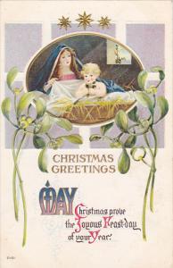 Christmas Baby In Manger