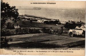 CPA LE BECQUET - Vue panoramique rade de CHERBOURG (149605)