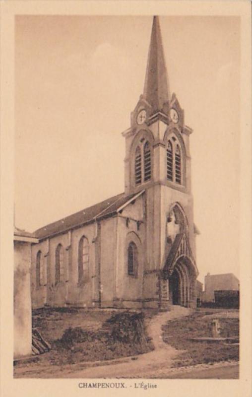 France Champenoux L'Eglise