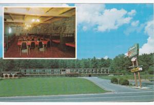 2-Views, Greene's Motel, BOONE, North Carolina, 40-60s