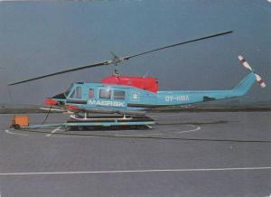 MAERSK HelicopterJuly 24, 1980 at Esberg airport, Sweden