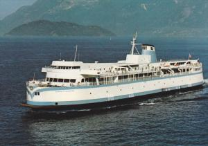 MV Queen of Nanaimo, British Columbia Ferry Corporation, Victoria, British Co...