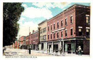 Fredericton  Queen street