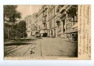 126594 TURKEY CONSTANTINOPLE Rue des Petits Champs Pera OLD PC