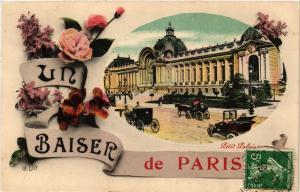 CPA Un Baiser de Paris 8e - Petit Palais (301746)