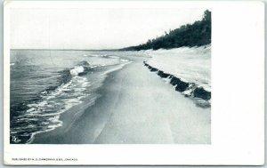 Chicago Advertising Postcard H.G. ZIMMERMAN Post Card Biotone Sample c1900s