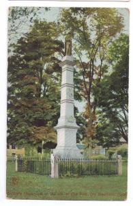 Old Deerfield MA Soldiers Monument Civil War Old Fort