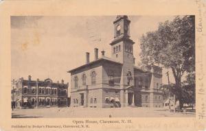 Exterior,Opera House,Claremont,New Hampshire,PU-1910