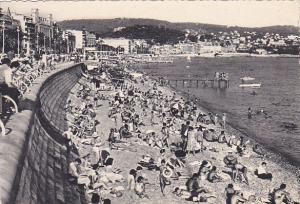France Nice La Plage et la Promenade des Anglais Photo
