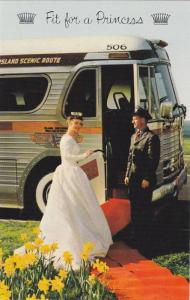 The Islander Limited Tour Bus, Fit for a Princess , Vanciuver , B.C., Canad...