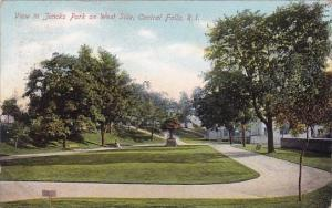 Rhode Island Central Falls View In Jencks Park On West Side 1908