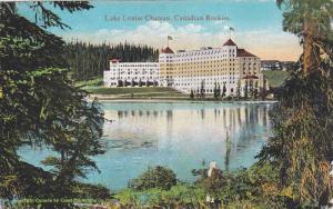 Canadian Rockies, Lake Louise Chateau, Lake Louise, Alberta, Canada, 1900-1910s