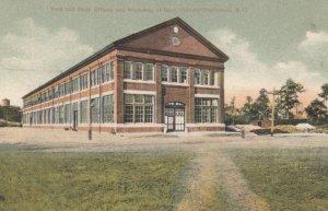 CHARLESTON, South Carolina, 1900-10s; Yard, Dock Offices & Workshop at Navy S...