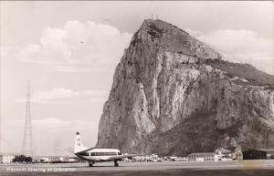Viscount Jet Taxying At Gibraltar Airport Real Photo