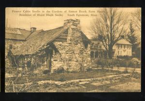 South Egremont, Mass/MA Postcard, Pioneer Cabin, Fenton Brook Farm House