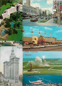 Huge Mixed USA Postcard Lot of 70 Chromes 01.15