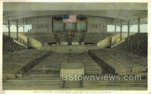 Amphitheatre Chautauqua NY Unused
