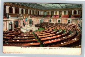 House Of Representatives, Vintage Washington DC Postcard