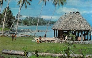 MIN0068 samoa house traditional