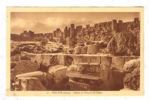 BAALBEK (Syrie), now Lebanon, 1910-30s ; Debris du Temple de Jupiter
