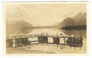 RP; Looking South East from the Atlin Inn, ATLIN , B.C. Canada , 1929
