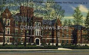 Mercy Hospital School Charlotte NC Unused