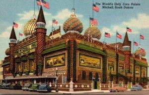 South Dakota Mitchell World's Only Corn Palace Curteich