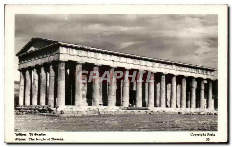 CPA Grece Greece Athens The Temple of Theseus